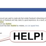 Pragmatic Look At Getting Your Banned Facebook Ads Account Back